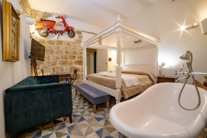 Junior Suite con balcone - B&B Porta di Castro - Bed and Breakfast Palermo Centro